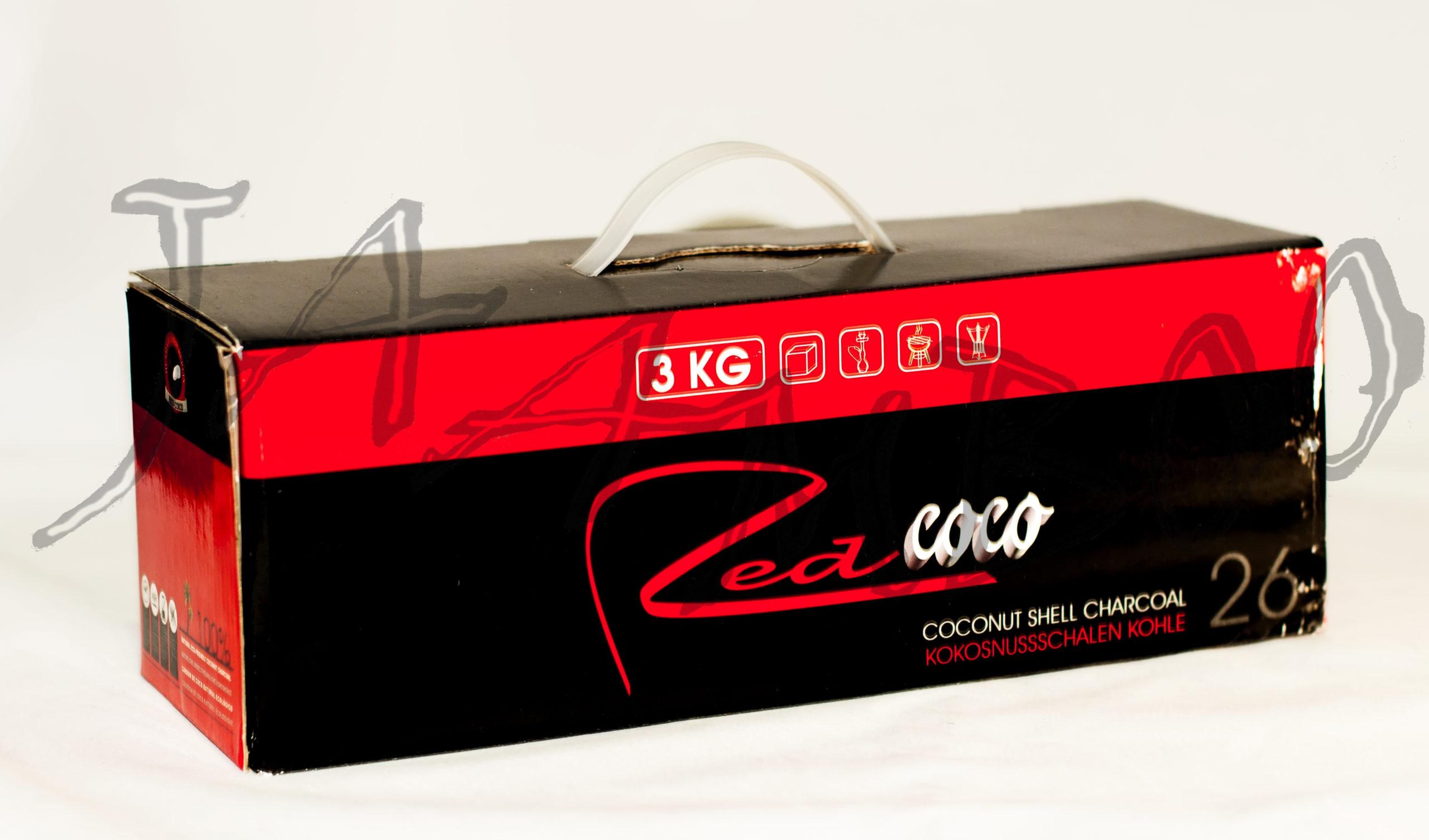 Red Coco -3 кг Уголь для Кальяна